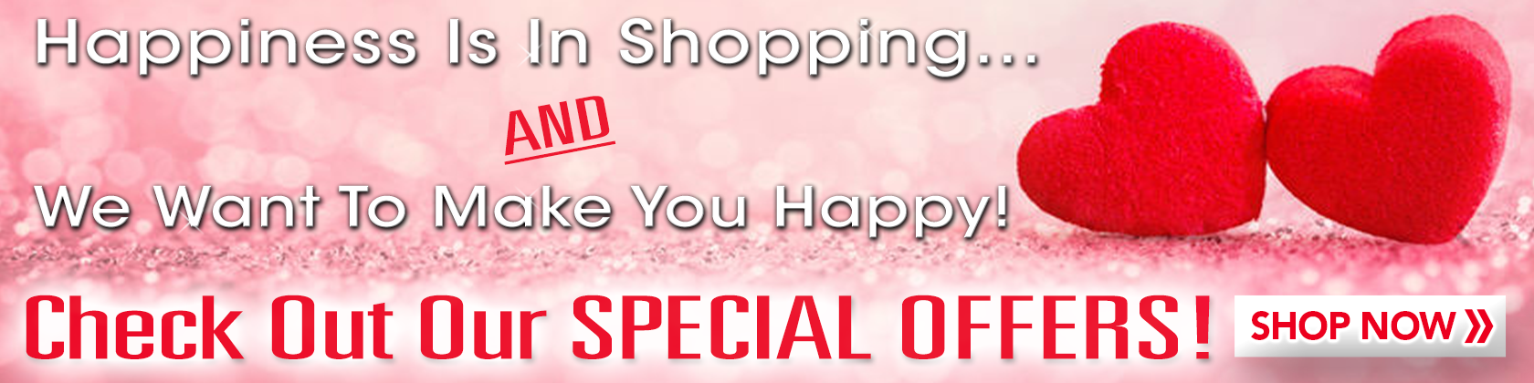 Valentine's Day Special Offers Desktop