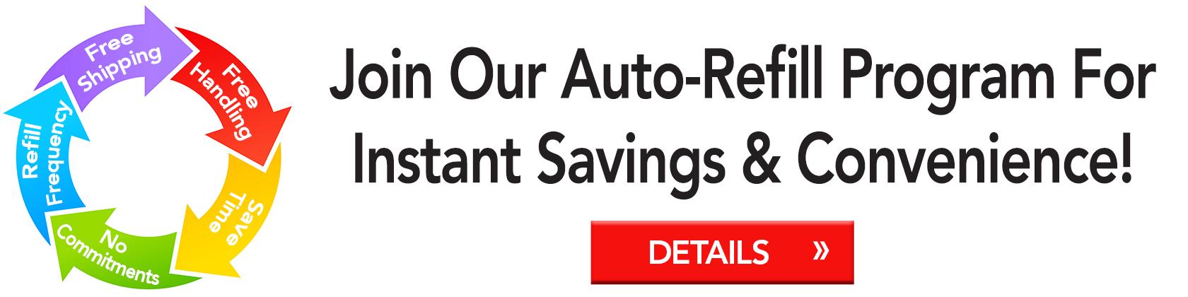 Auto Refill Details