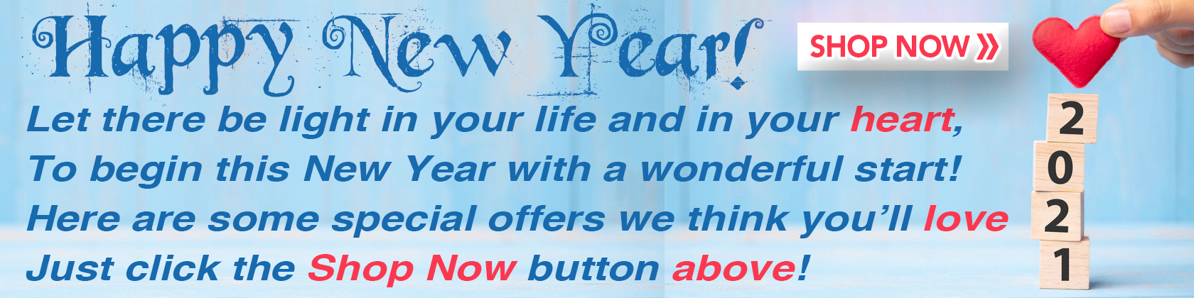 New Year Special Offers Desktop