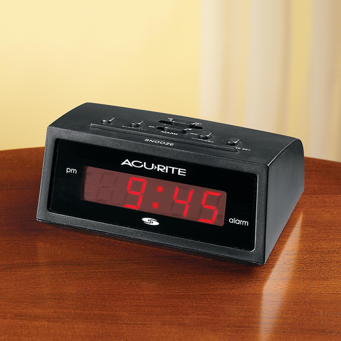 Self Setting Electric Alarm Clock-313983