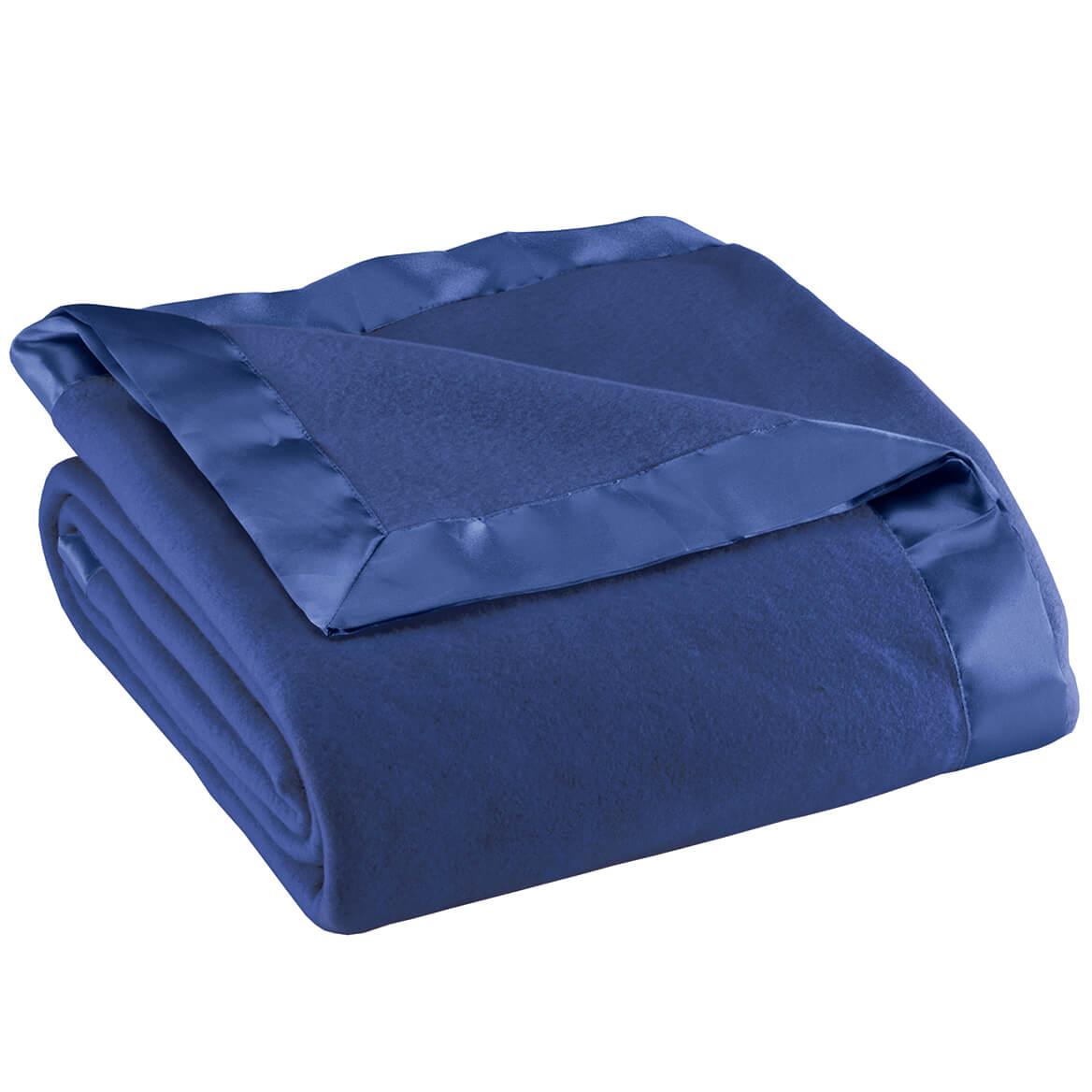 Satin Fleece Blanket by OakRidge™-345224