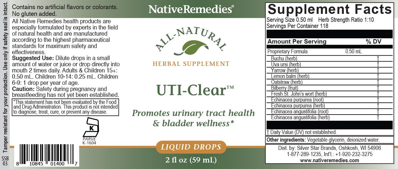 NativeRemedies® UTI-Clear™-351840