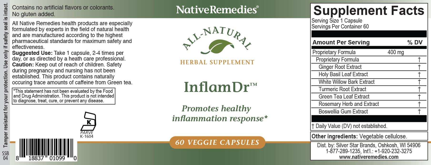 NativeRemedies® Inflam Dr.™-352106