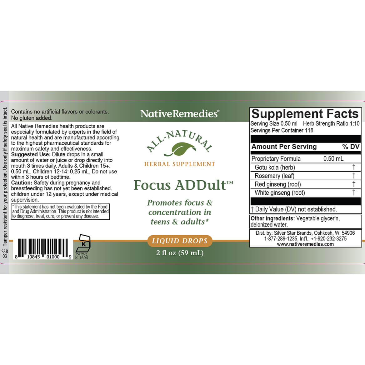 NativeRemedies® FocusPlus ComboPack for Adults-352237