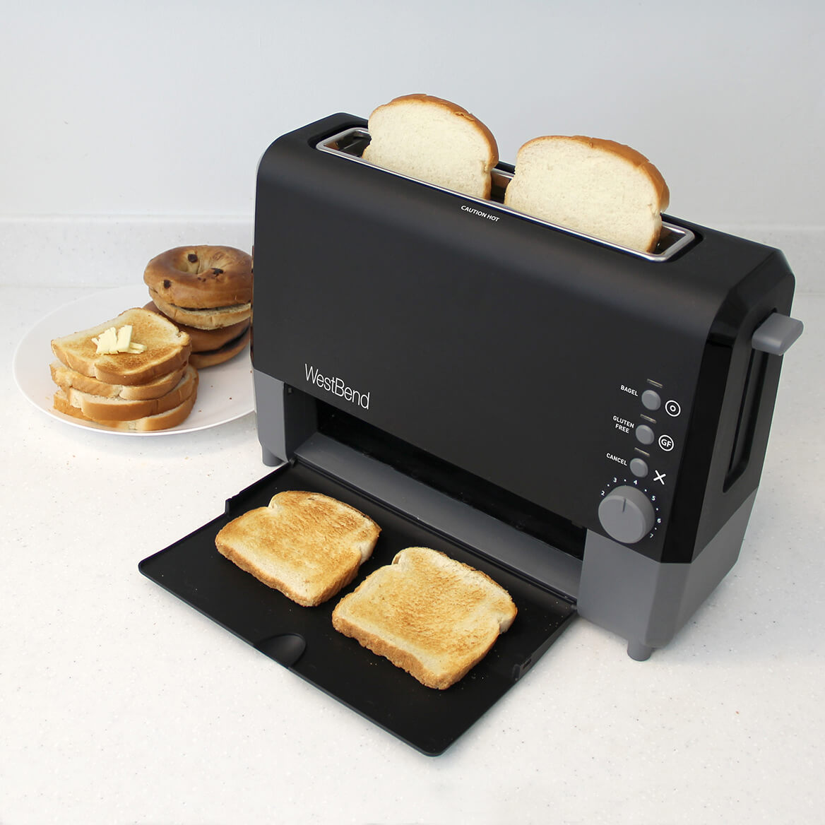 West Bend Quik Serve Toaster-364659