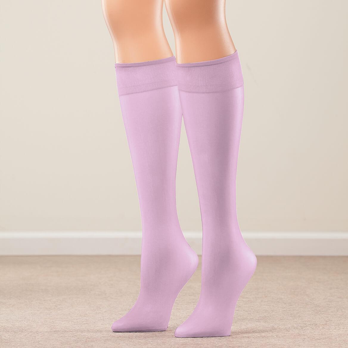 Nylon Knee Highs Set of 20 Pairs-367416