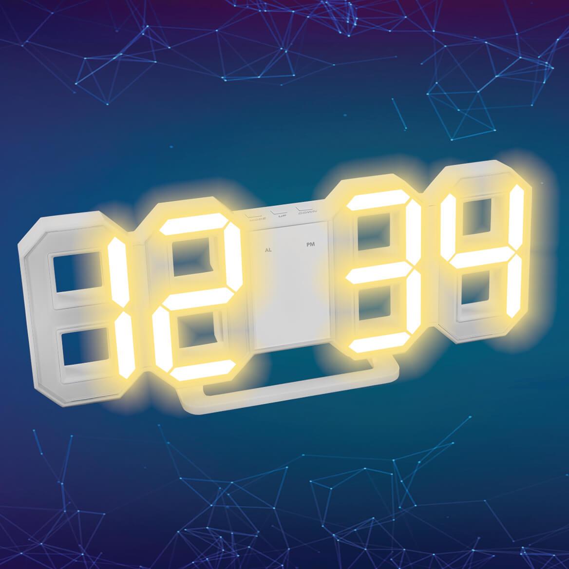 Future Tech Digital Clock-369747