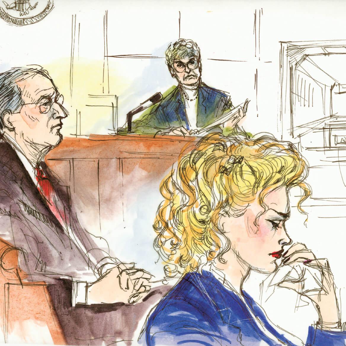 Famous Celebrity Trials Captured-369751