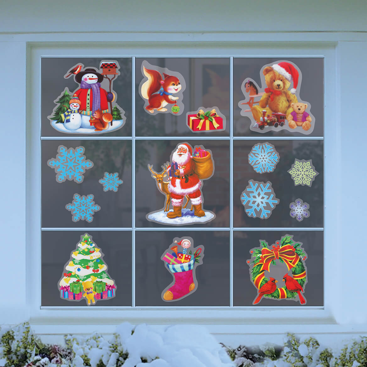 Holiday Window Clings-369809