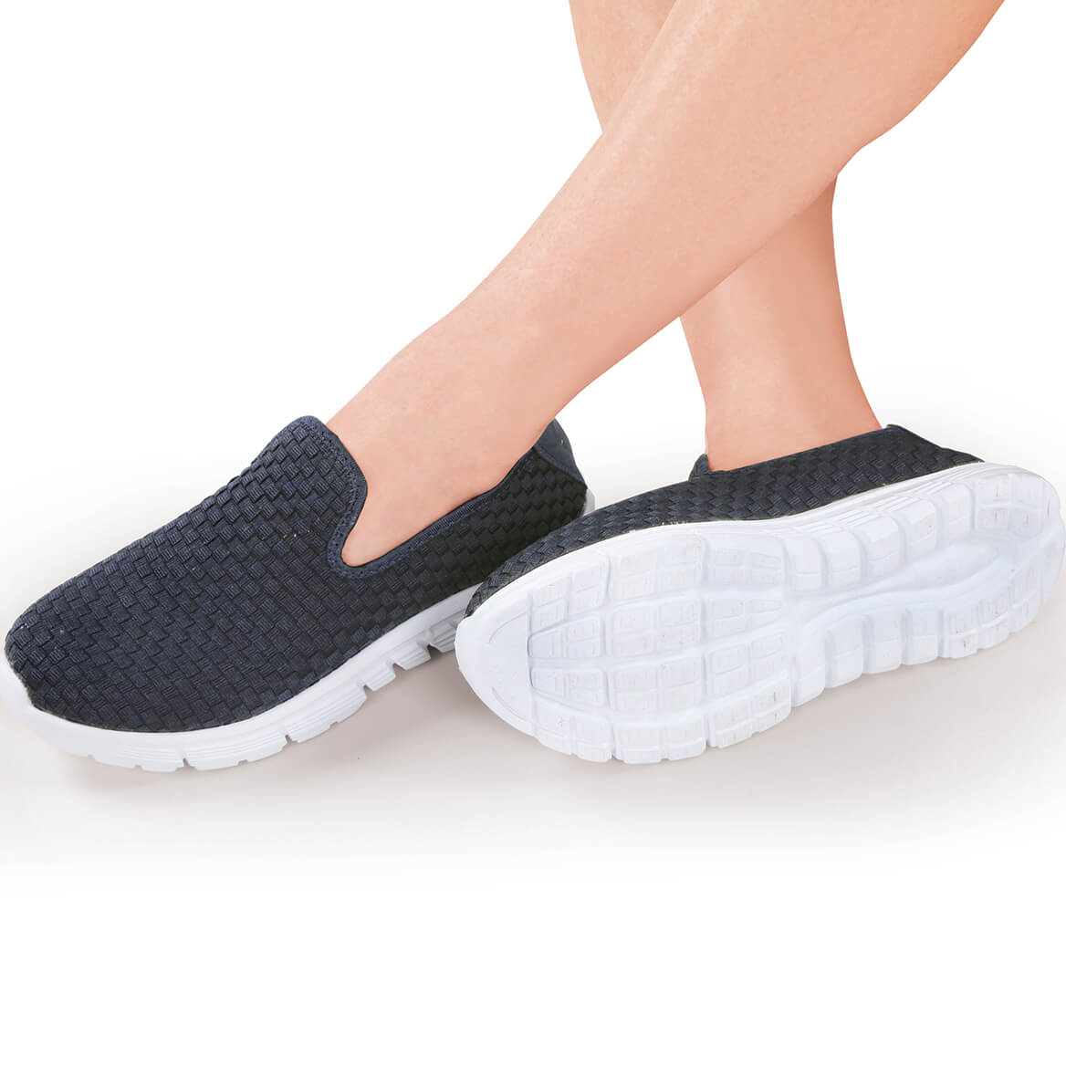 Woven Comfort Sneakers Ladies-369923
