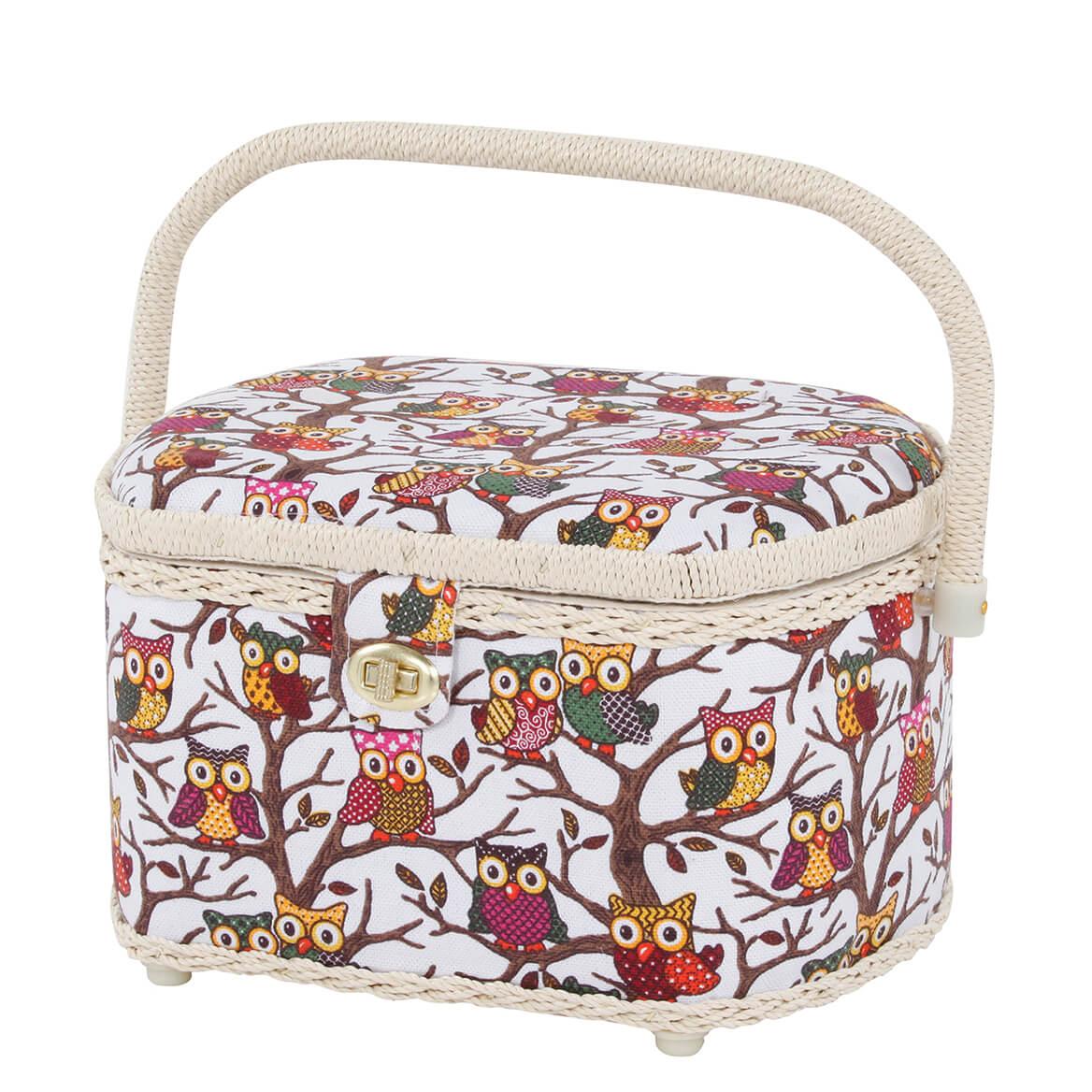 Owl Sewing Basket-369935