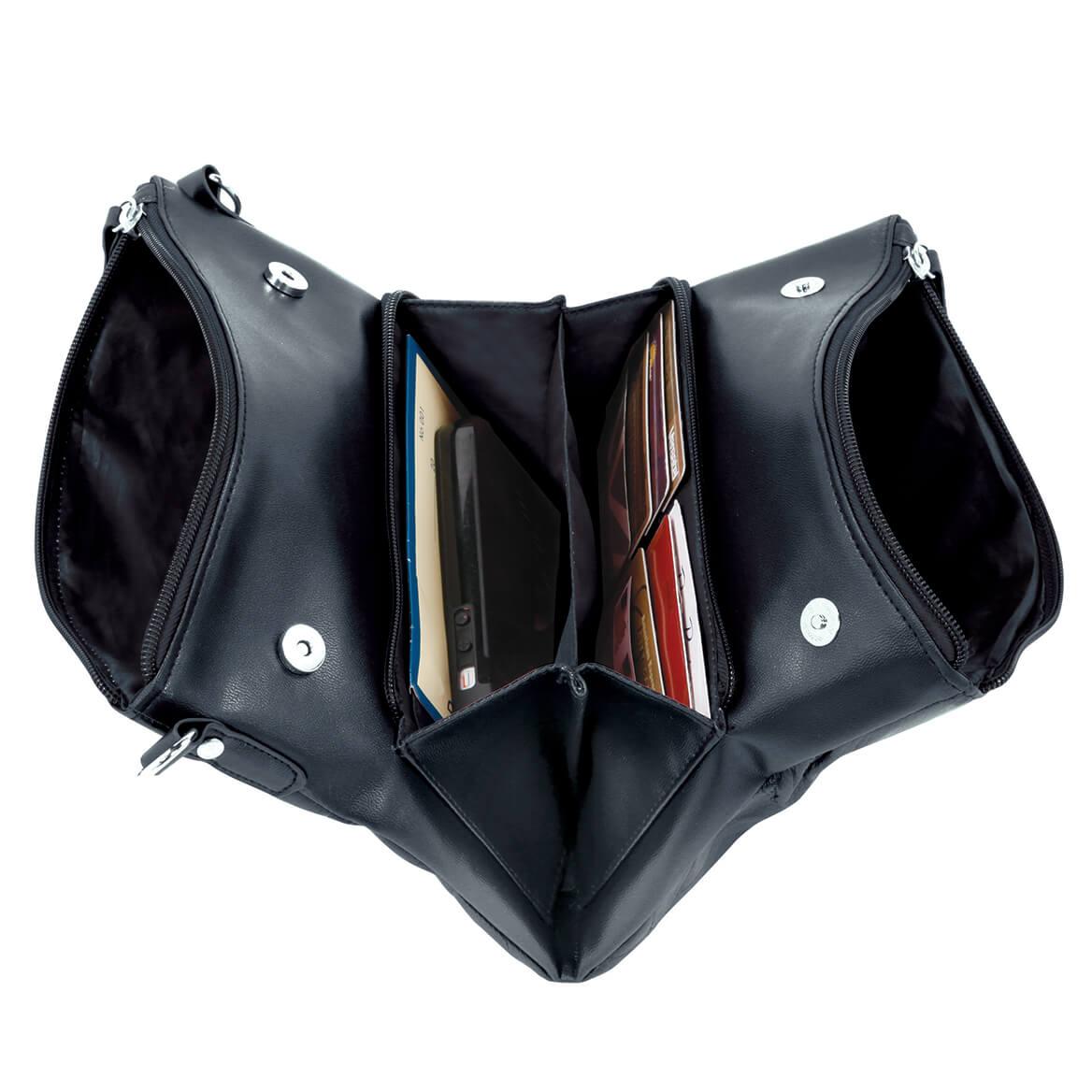 Fold N' Go Leather Handbag-369950