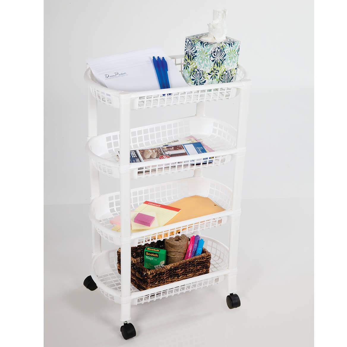4 Tier Rolling Cart-369963