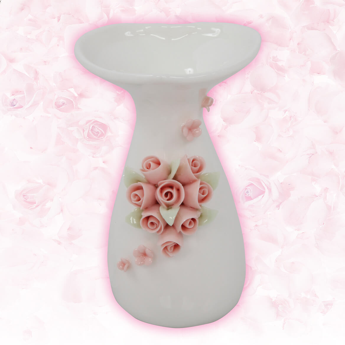 Porcelain Rose Bud Vase-369969