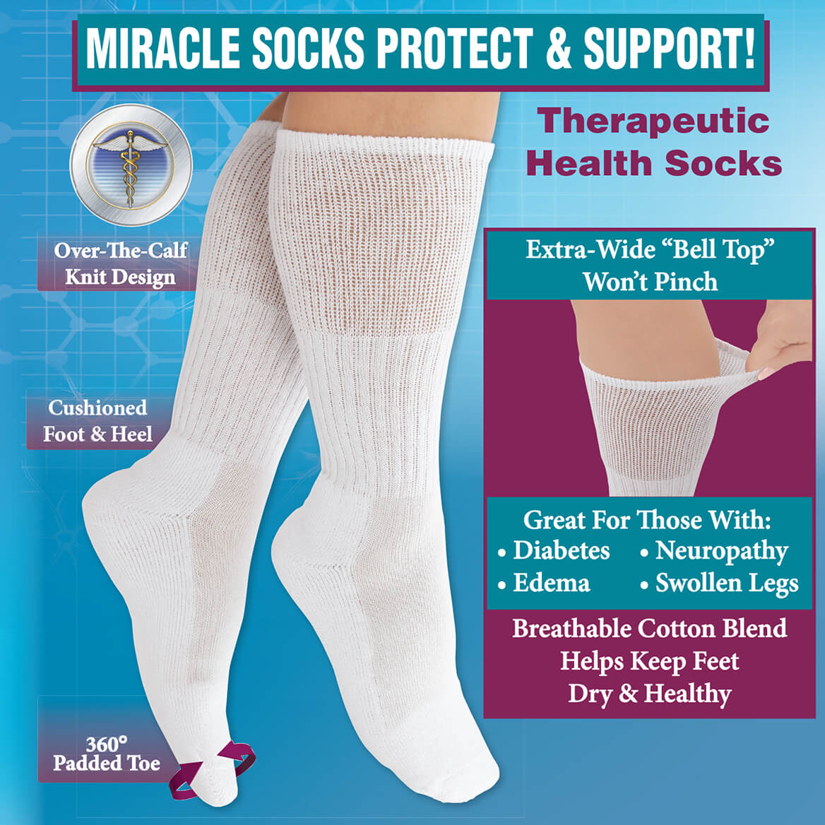 Diabetic Health Socks-369994