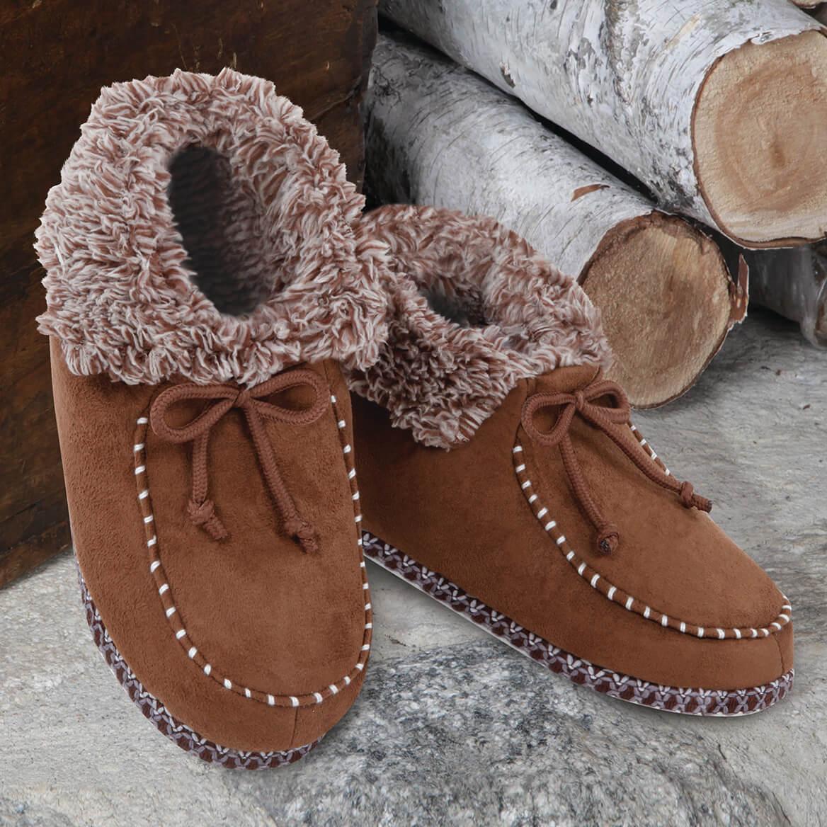 Snug N' Comfy Ankle Boots Ladies-370005