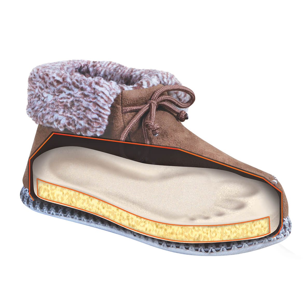 Snug N' Comfy Ankle Boots Mens-370006