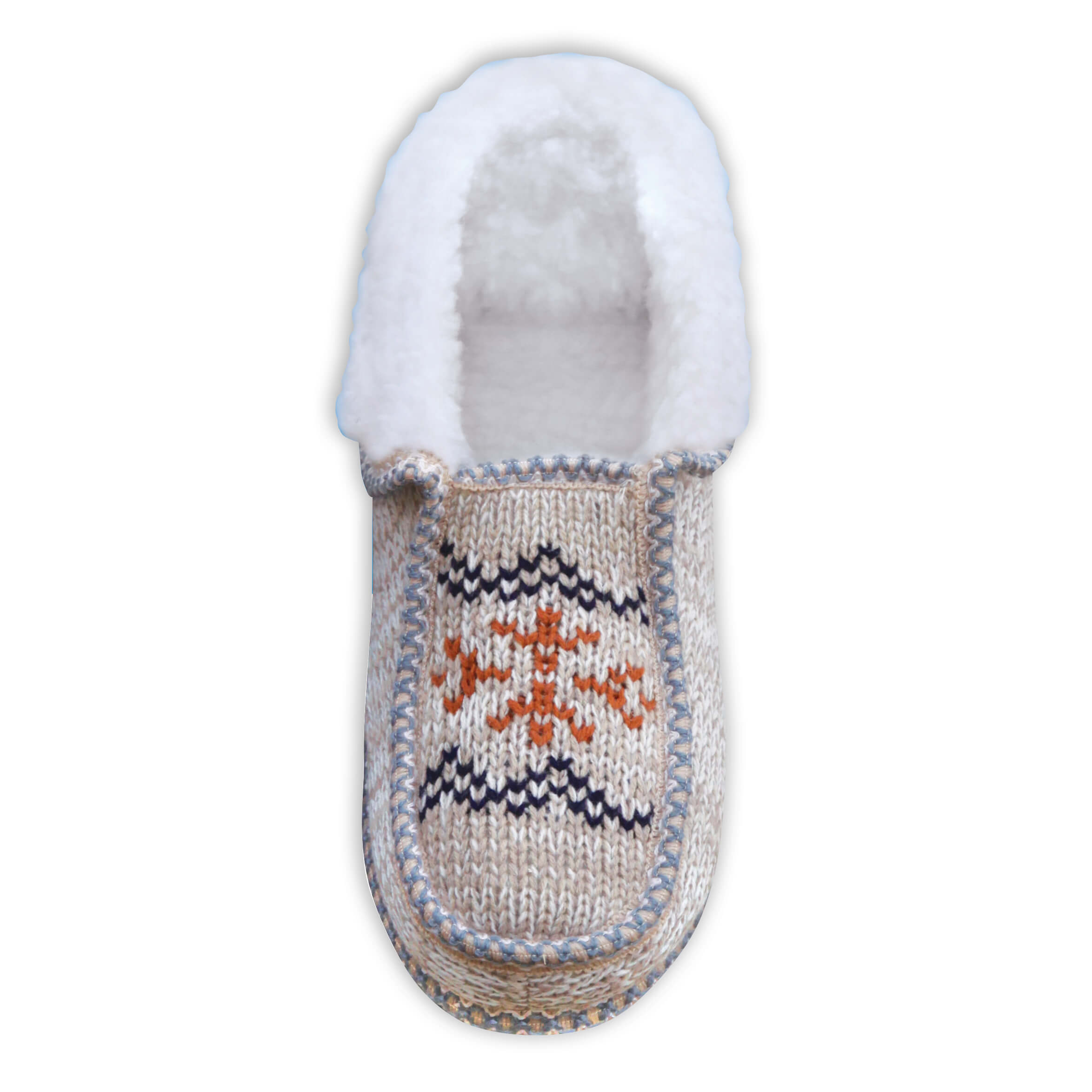 Norwegian Knit Ankle Boots Ladies-370073