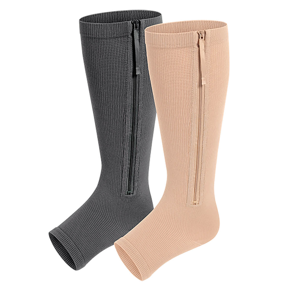 Zippered Compression Stockings-370092