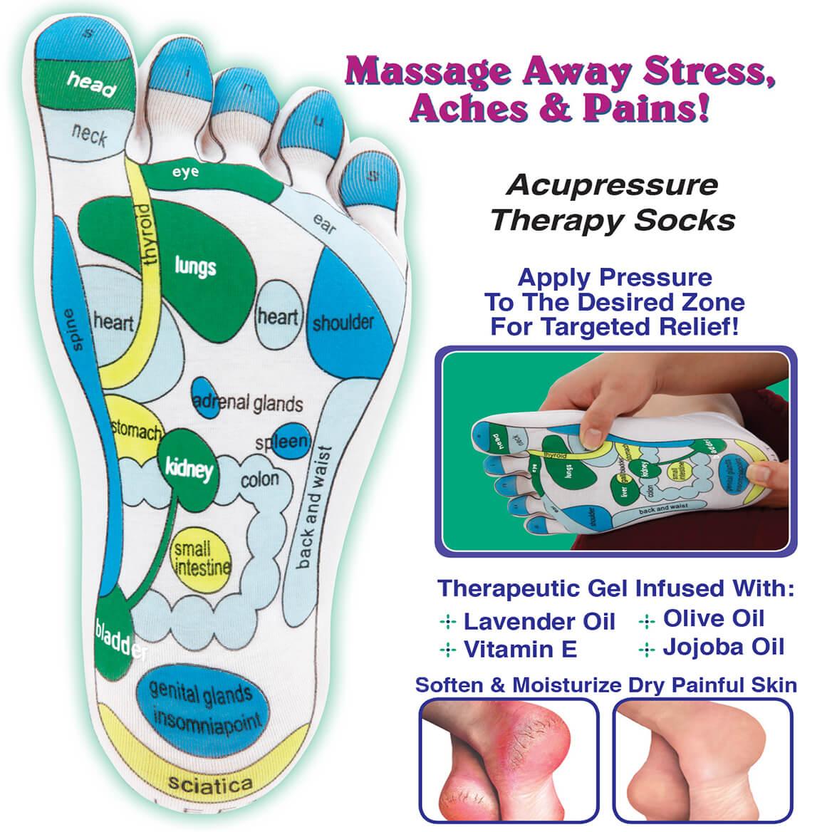 Acupressure Therapy Socks Pair-370139