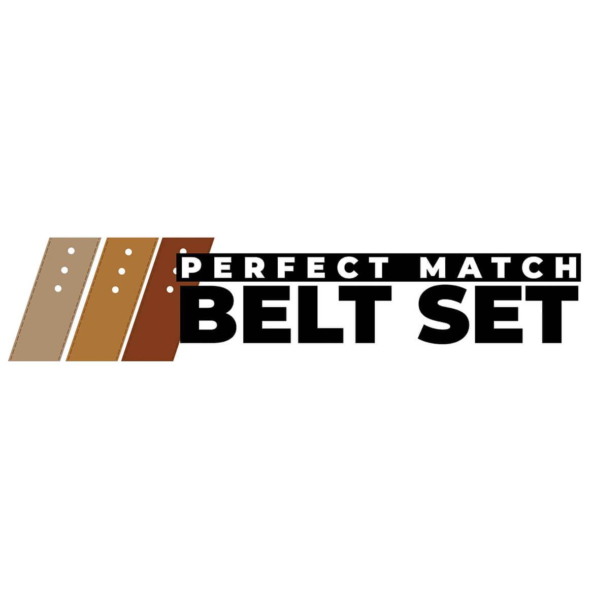 Perfect Match Belt Set-370204