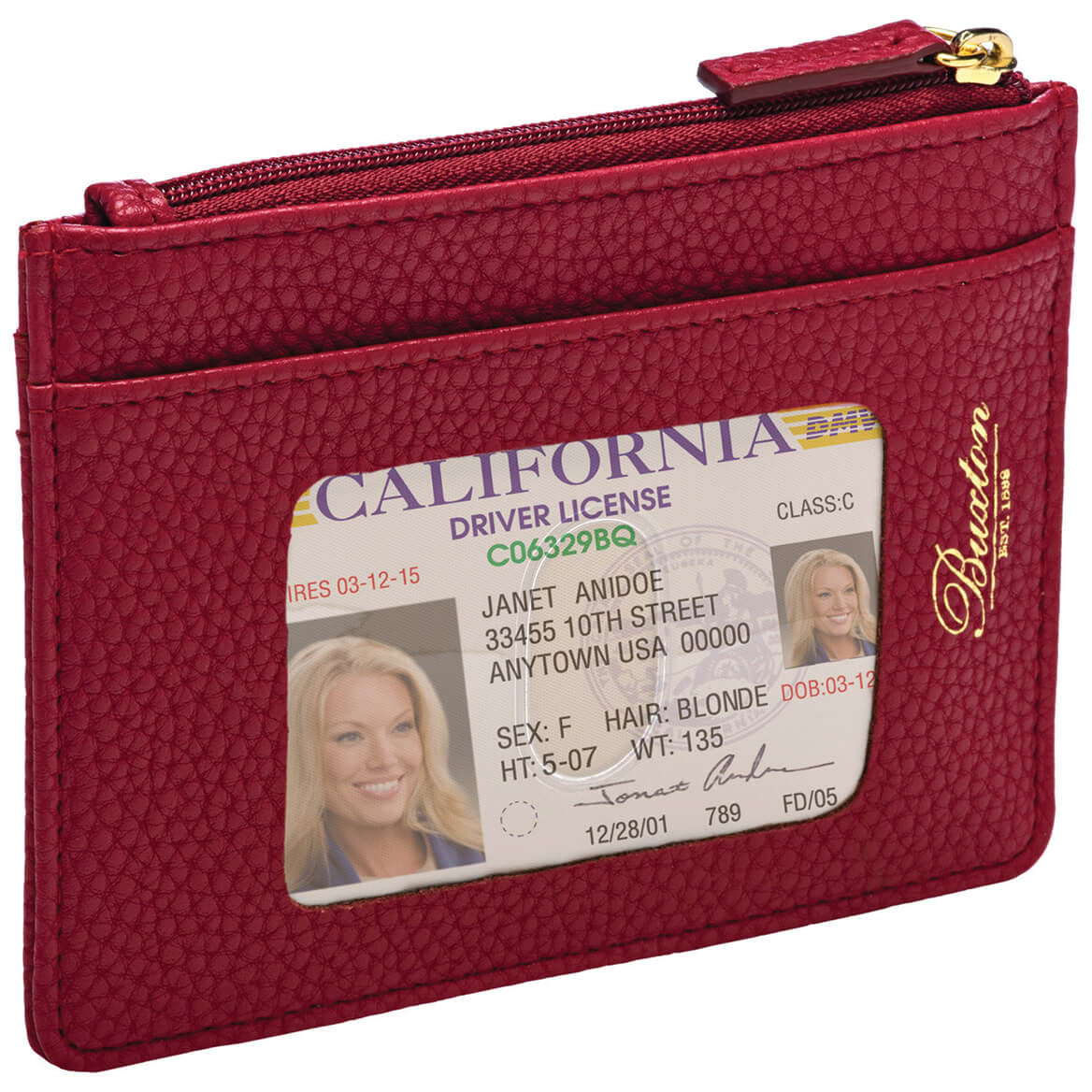 Buxton® RFID Credt Card Holder-370253
