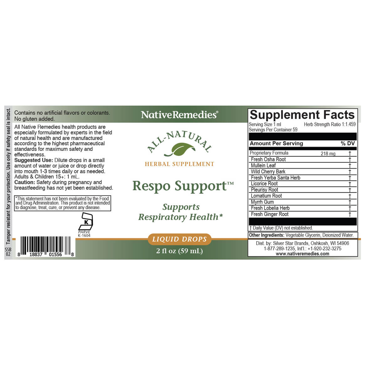NativeRemedies® Respo Support-370985
