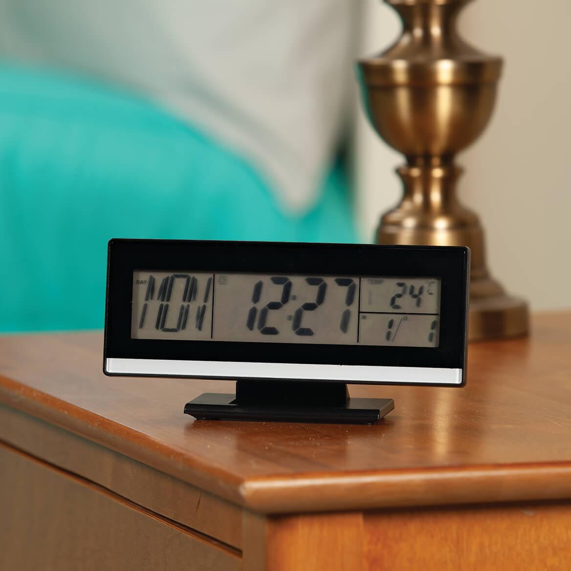 Large Easy Read LCD Multi Function Alarm Clock-371544