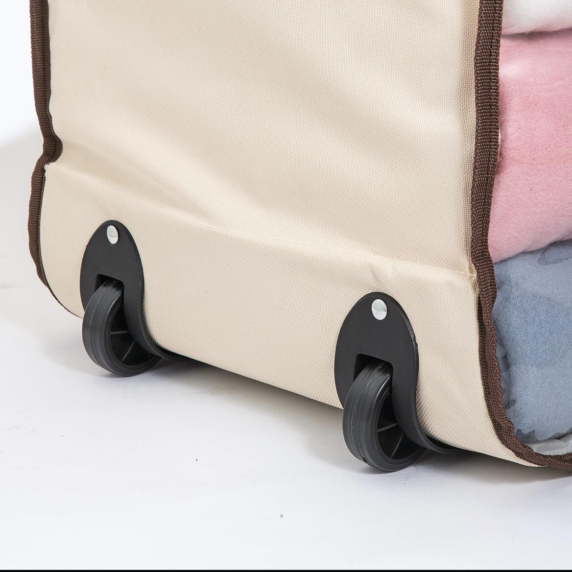 Jumbo Wheeled Storage Bag with Clear Window-371554