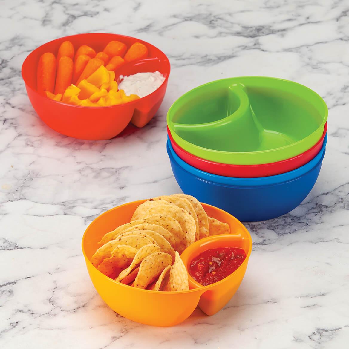 Set of 6 Individual Snack & Dip Bowls-371614