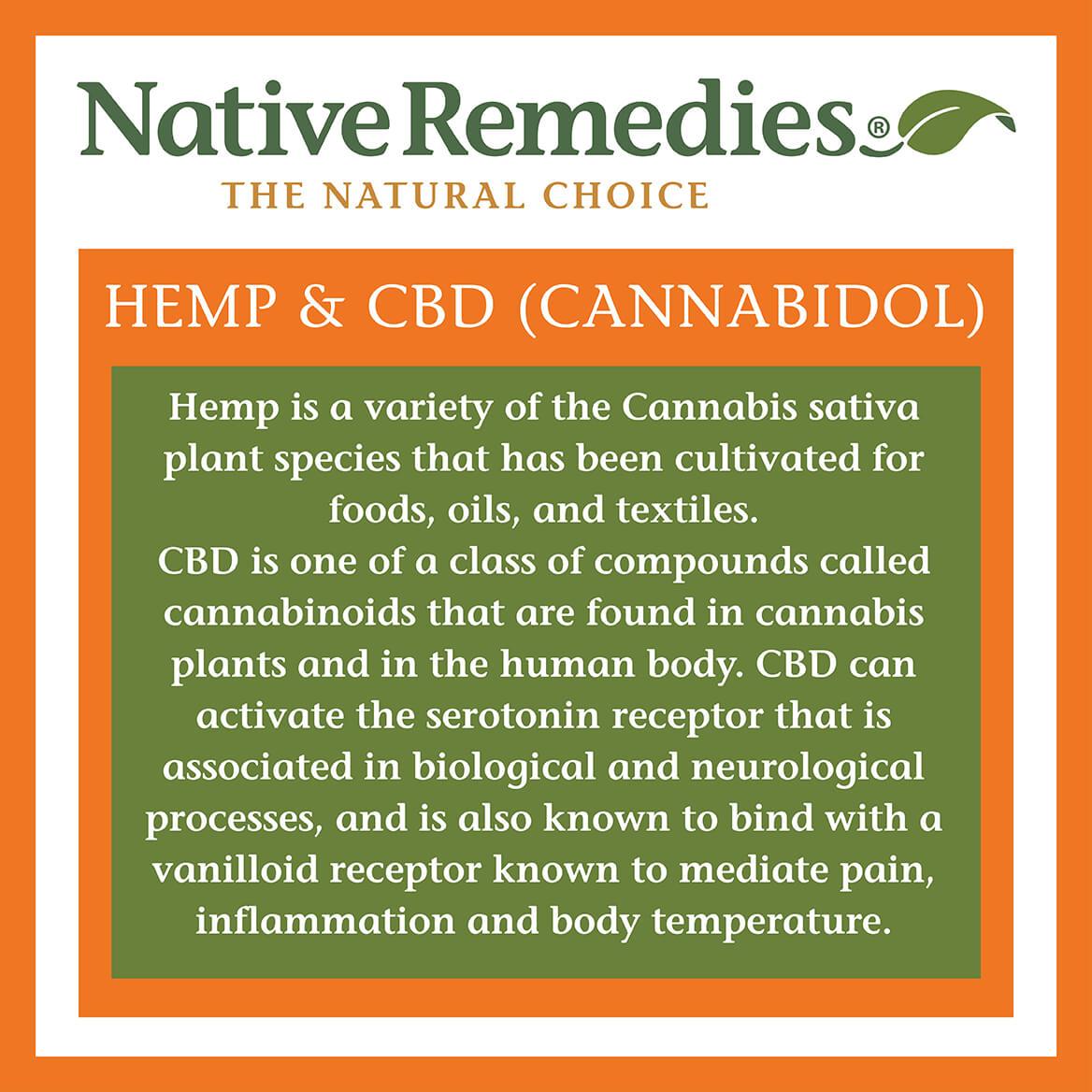 NativeRemedies® Hemp + Calm-371650
