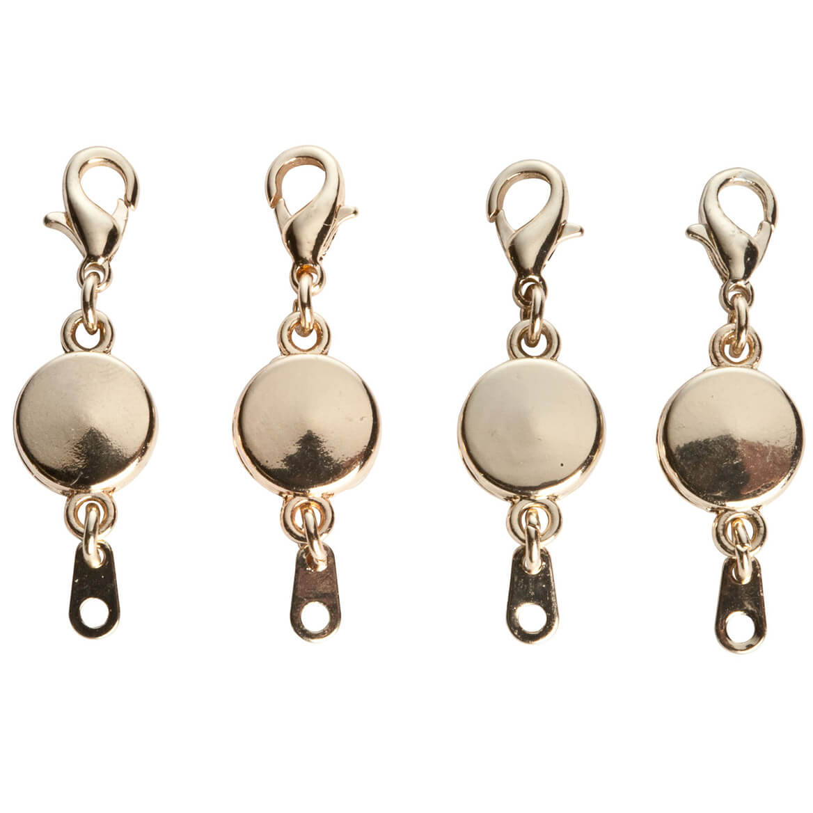 Locking Magnetic Jewelry Clasps, Set Of 4-337030