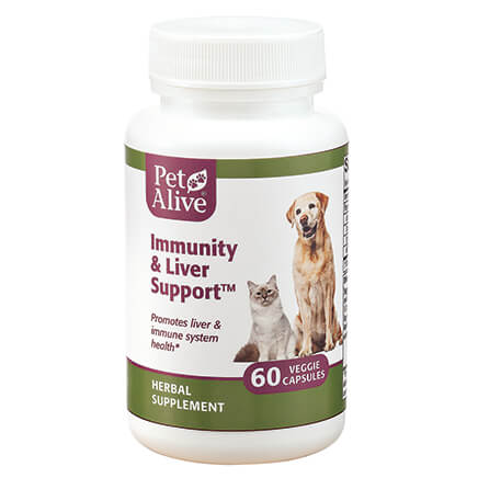 PetAlive® Immunity and Liver Support™ Veggie Caps