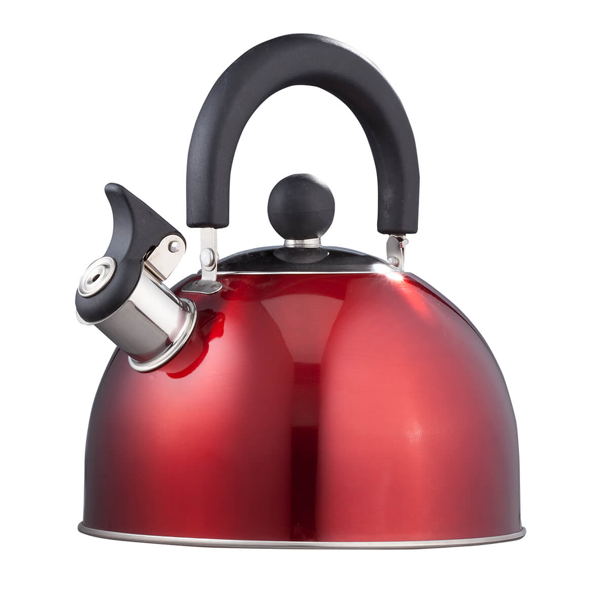 Red Whistling Tea Kettle by Home-Style Kitchen-353543