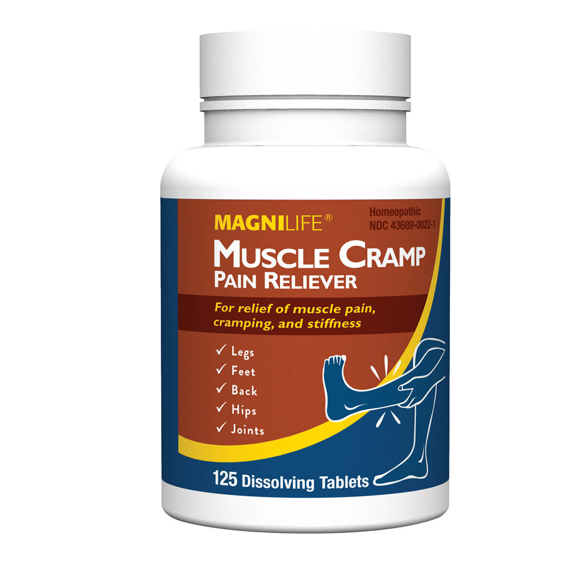 MagniLife® Muscle Cramp Pain Reliever Dissolving Tablets-359088