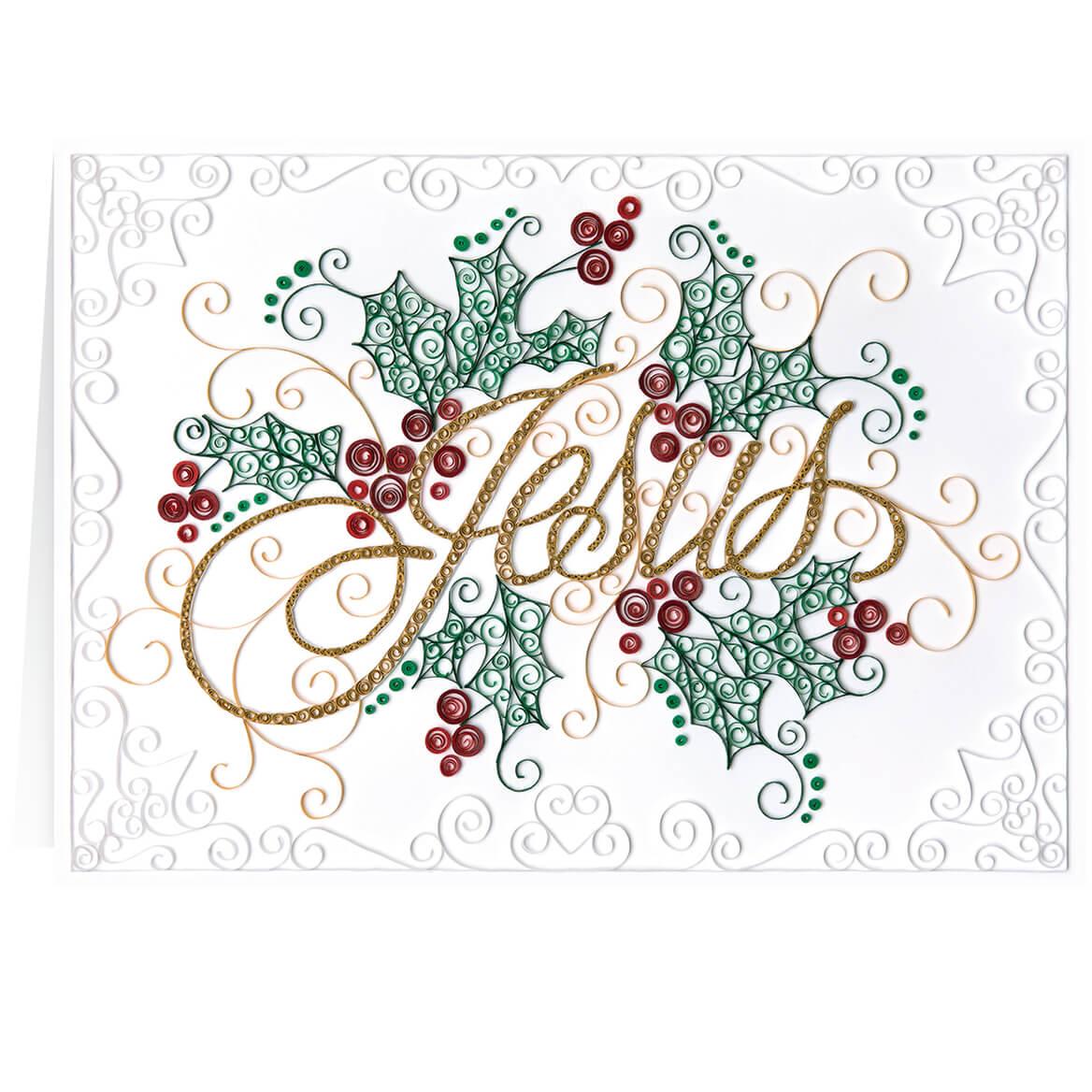 Paper Filigree Christmas Card Set of 20-364014