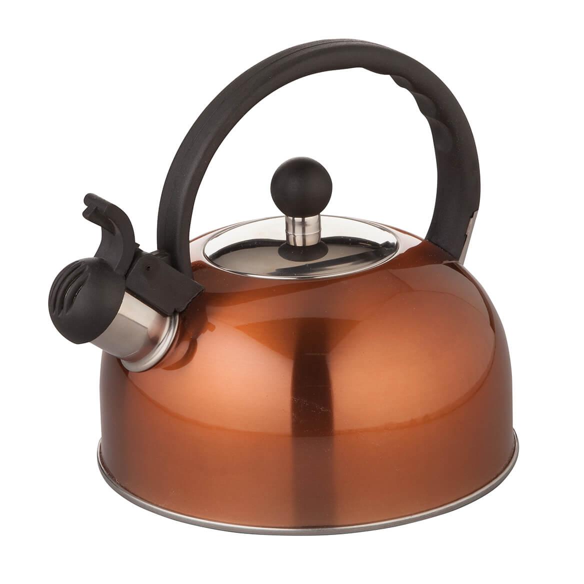 Home Marketplace Copper Color Whistling Tea Kettle-365925