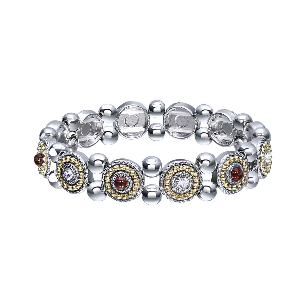 Geniune Garnet Stretch Bracelet-369854