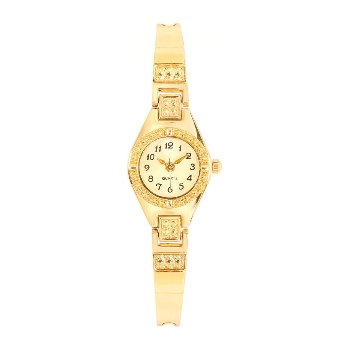Genuine 14 Kt Gold Plated Bracelet Watch-369857