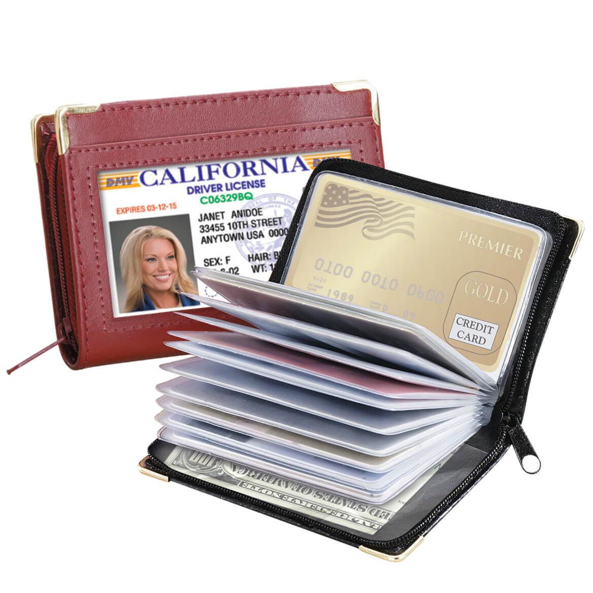 Zip Up Security I.D. Credit Card Case-369903