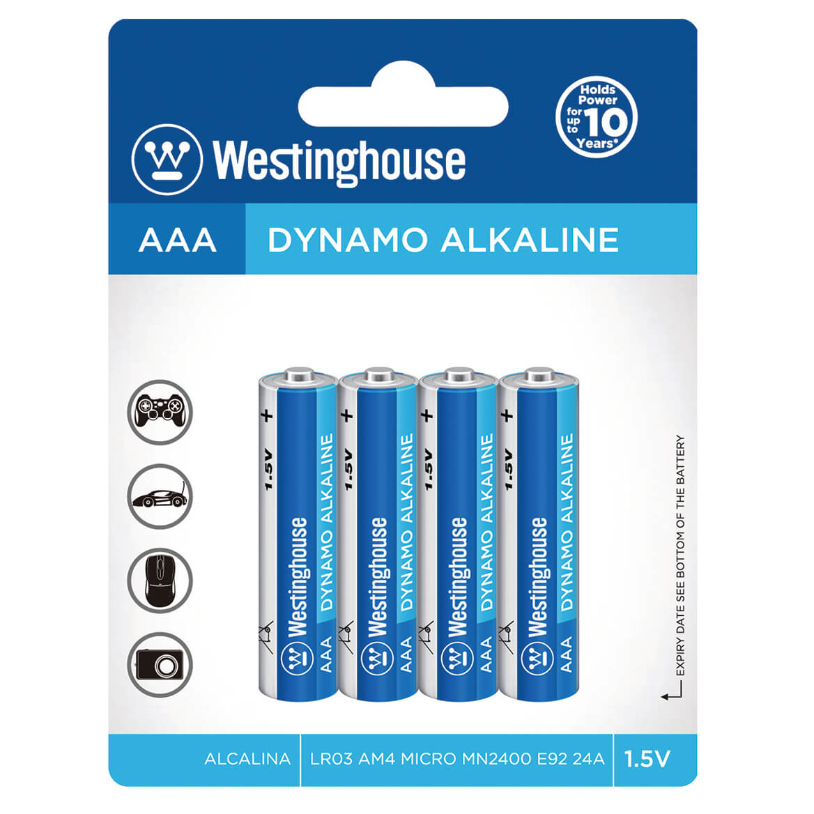 Westinghouse Batteries AAA S/4-369941