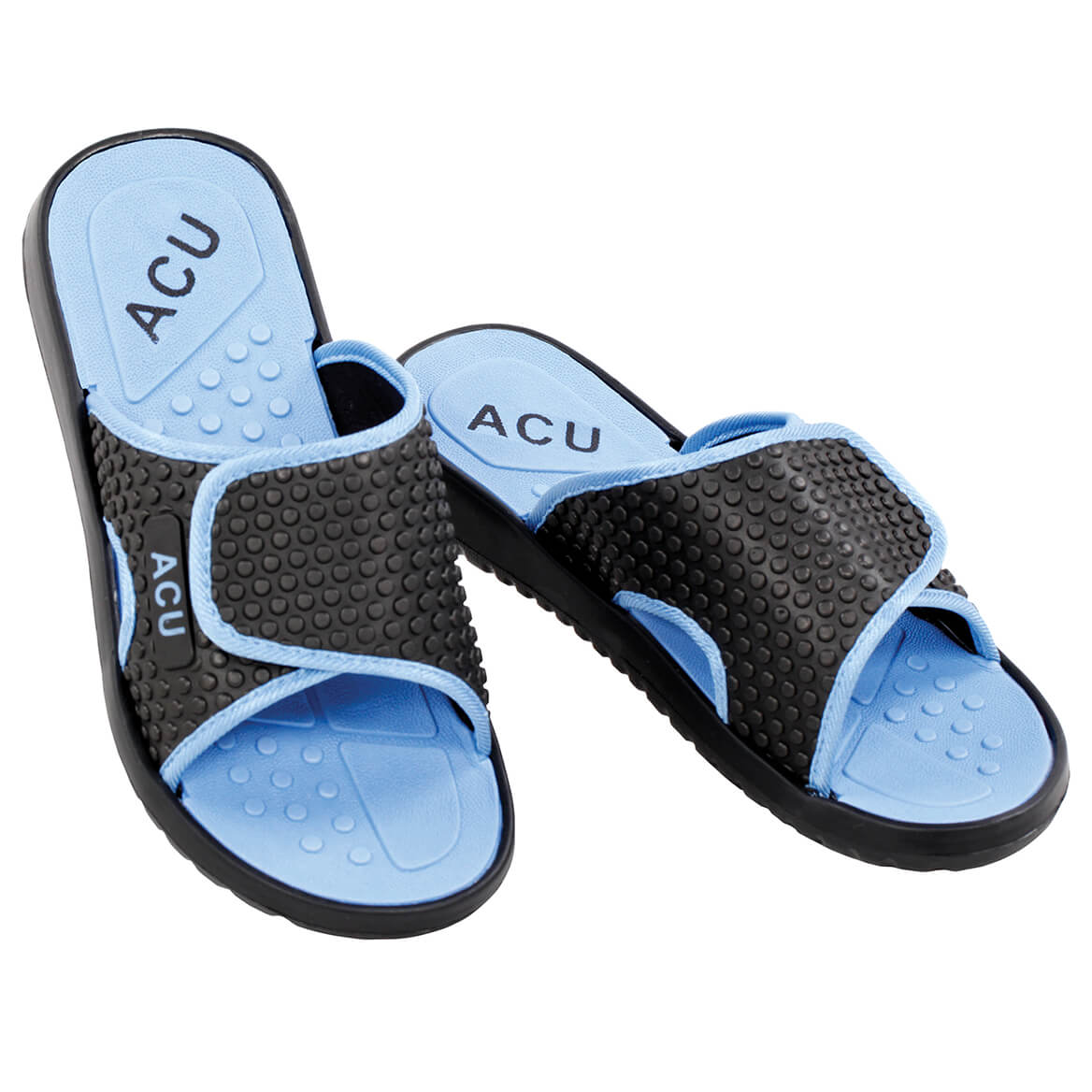 Cool & Comfy Massaging Slides-370023