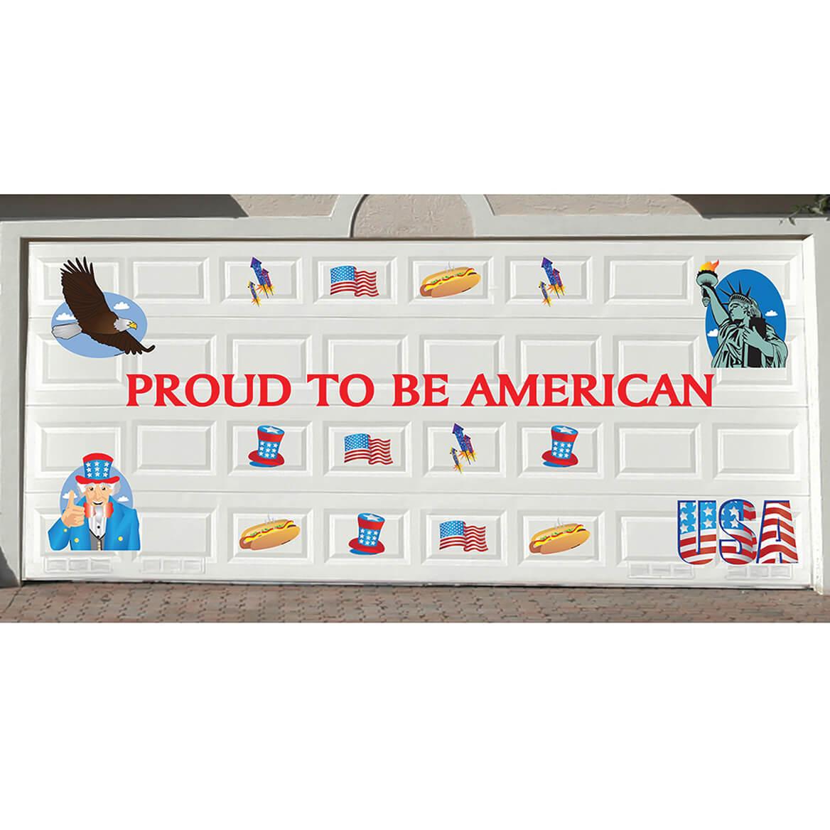 Holiday Garage Door Magnets S/33 Patriotic-370088