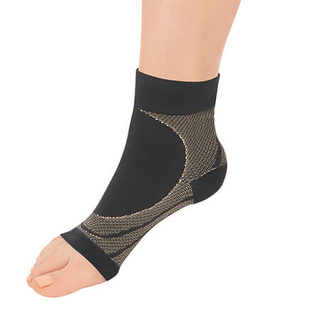 Copper Compression Ankle Support