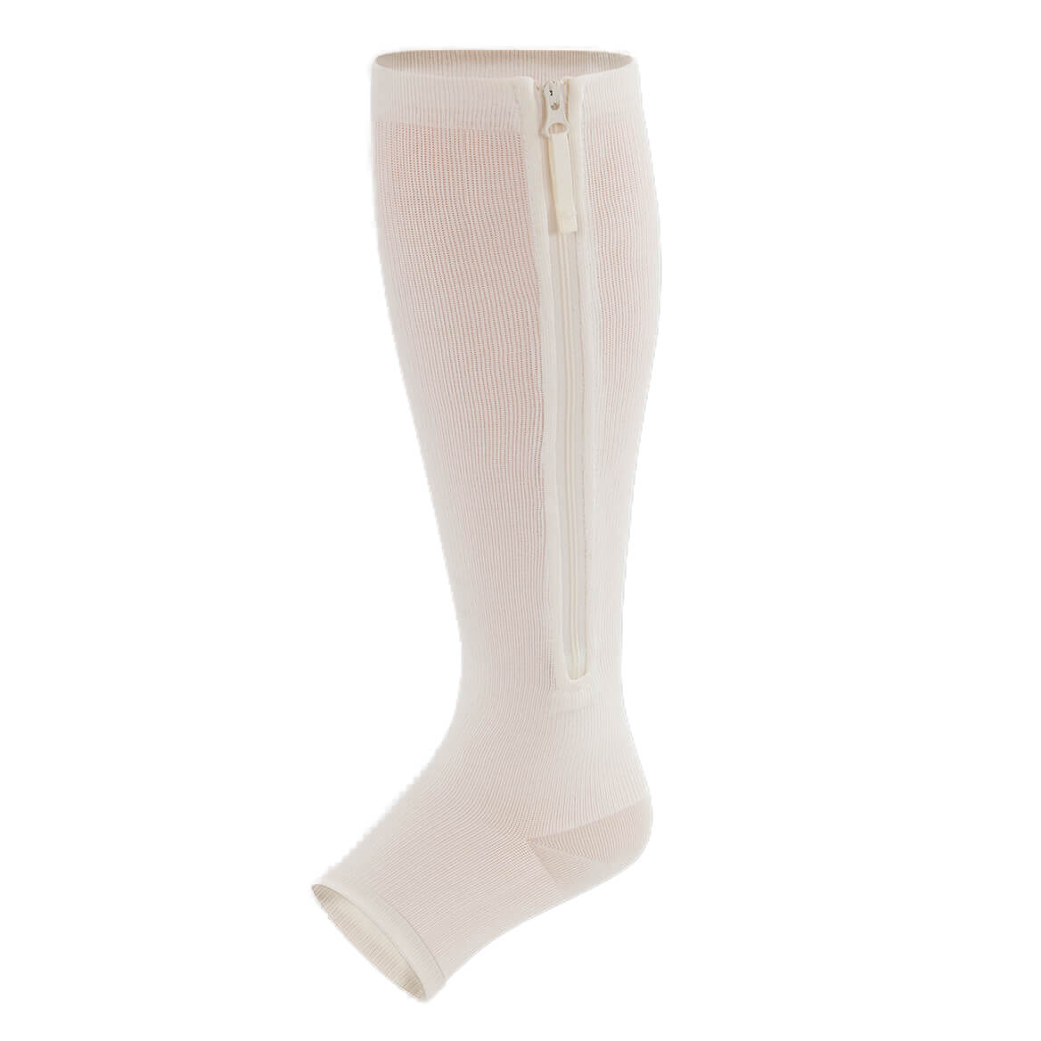 Silver Zip-Up Compression Stockings-370133