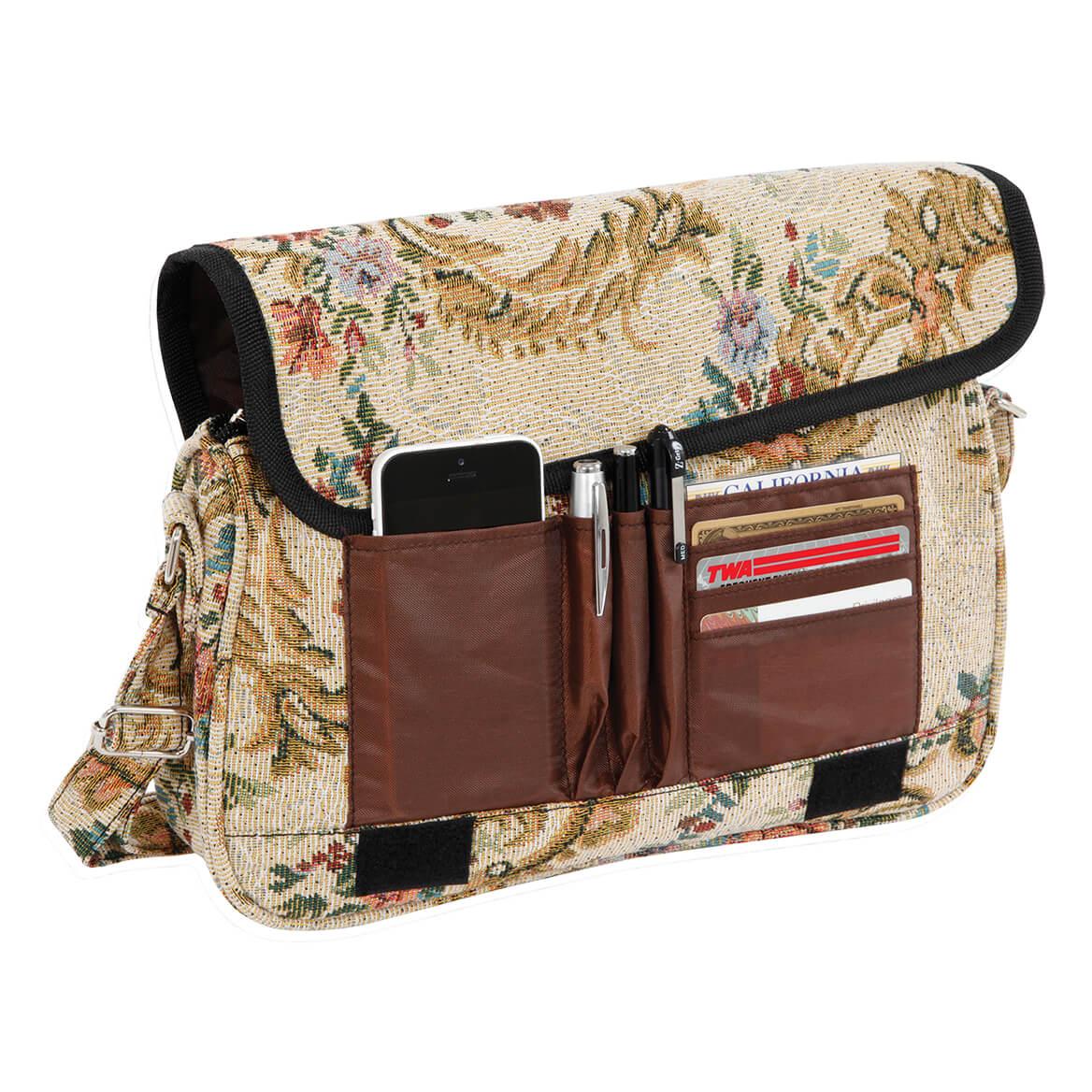 Floral Tapestry Handbag-370209