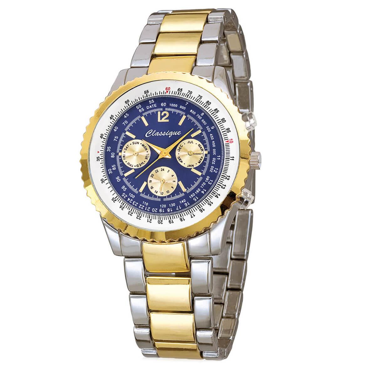 Classique Chronograph Style Bracelet Watch-370225