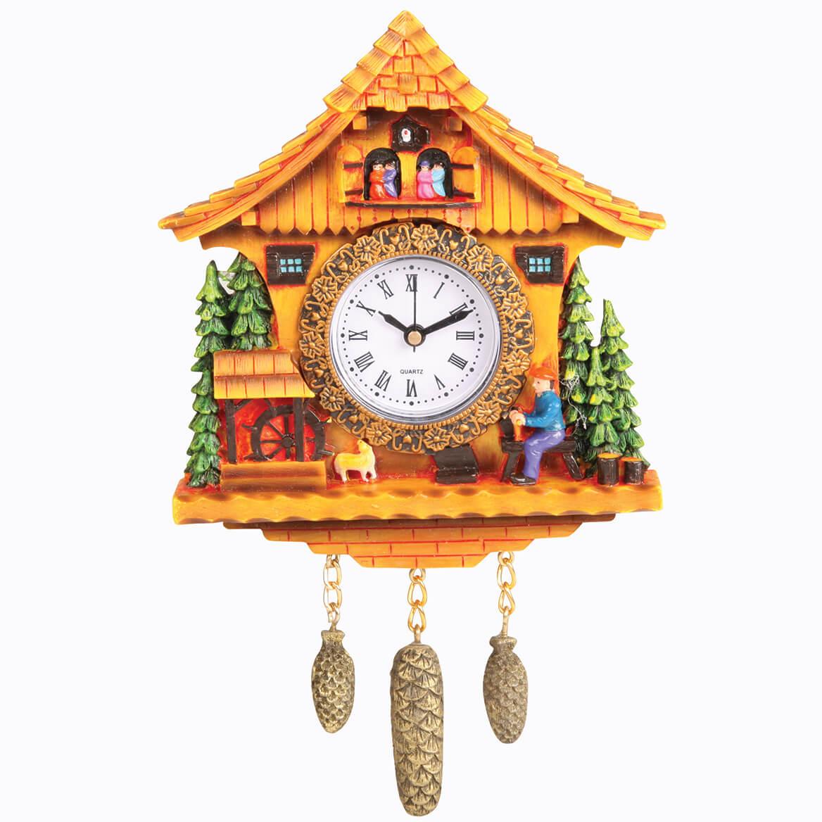 Swiss Cottage Clock-370239