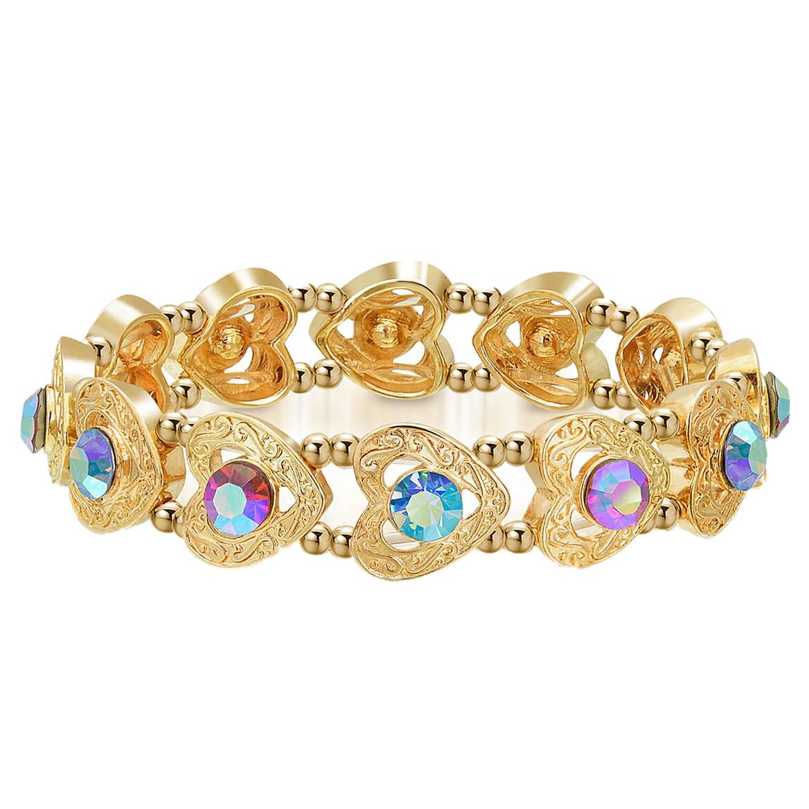 Stretch Bracelet with Swarovski® Crystals-370456
