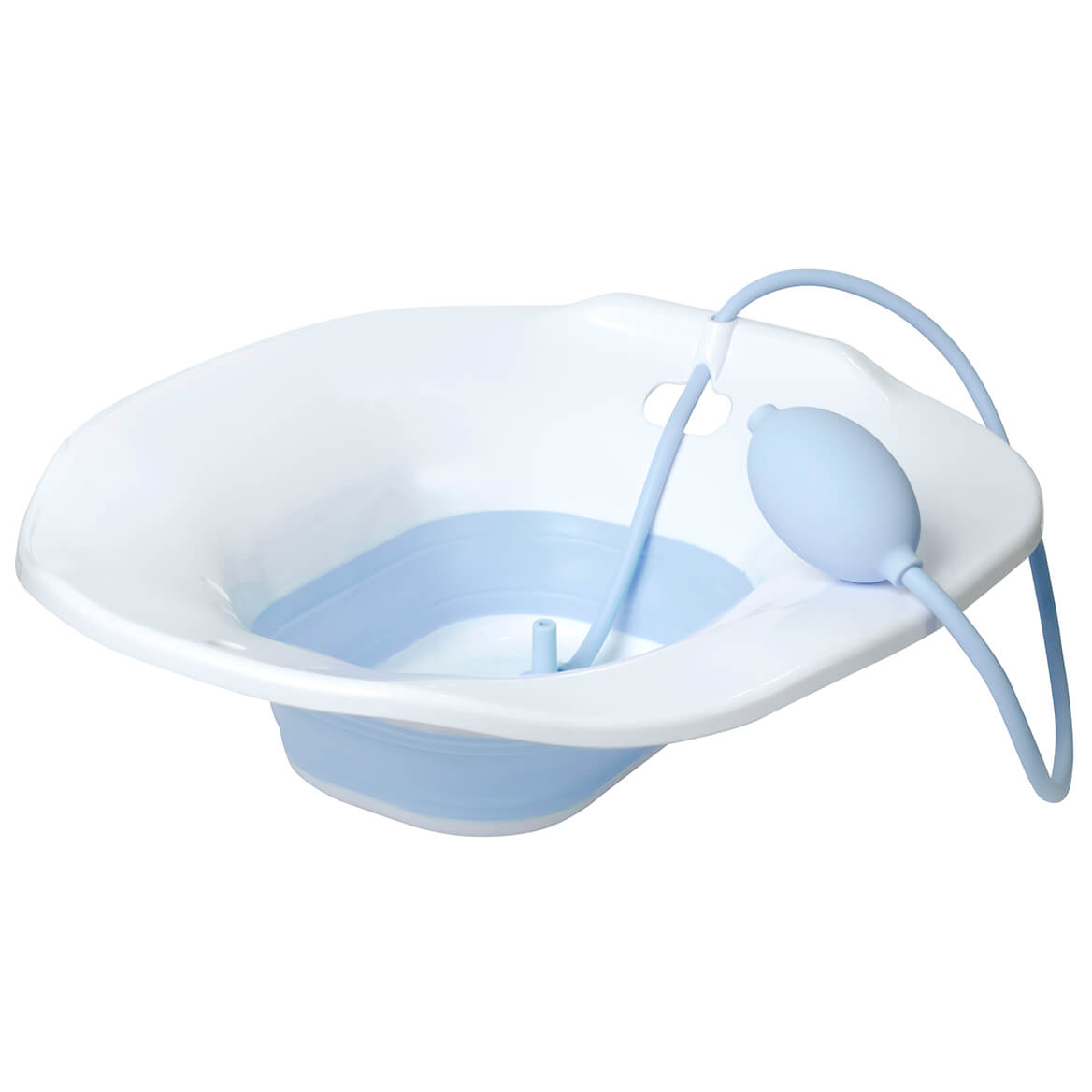 Collapsible Sitz Bath with Flusher-371093